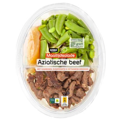 Huismerk Maaltijdsalade Aziatische Beef