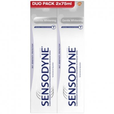 Sensodyne Gentle whitening duo