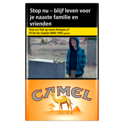 Camel Sigaretten orange box