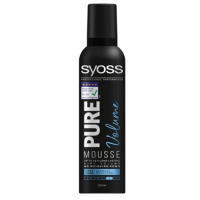 Syoss Styling mousse pure volume