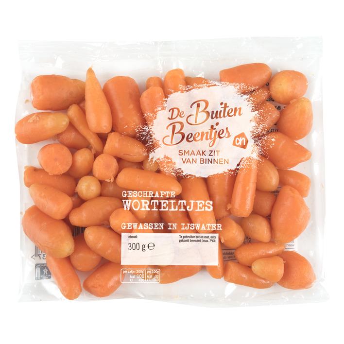 Huismerk Buitenbeentjes geschrapte worteltjes