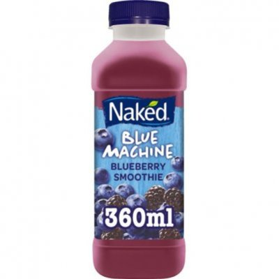 Naked Smoothie blue machine