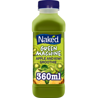 Naked Smoothie apple en kiwi