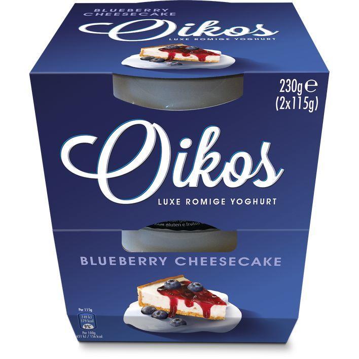 Oikos Blueberry cheesecake