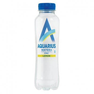 Aquarius Water+ zinc lemon