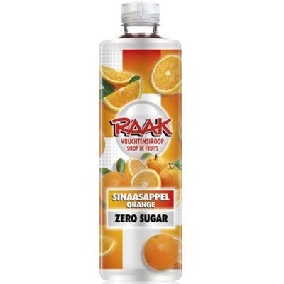 Raak Siroop Zero Sinaasappel