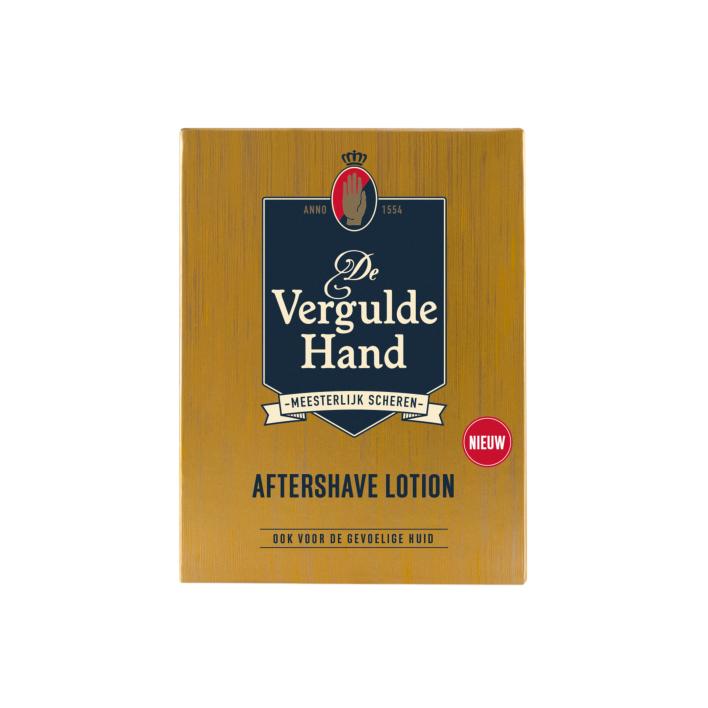 Vergulde Hand Aftershavelotion