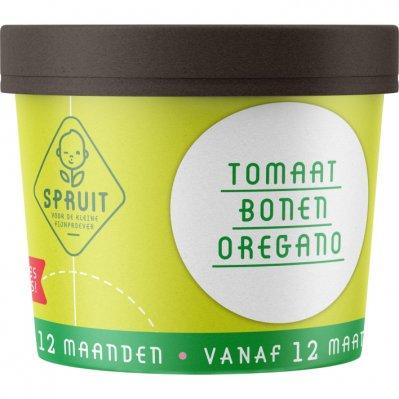 Spruit V.a. 12mnd: tomaat bonen oregano