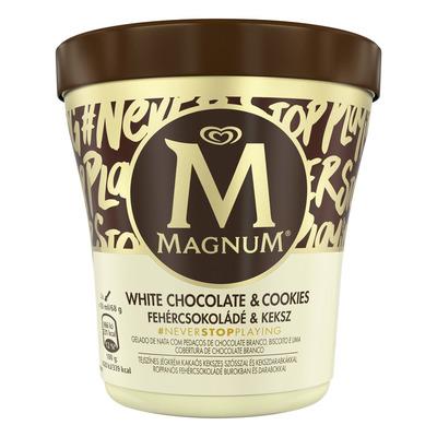 Magnum White choc cookies