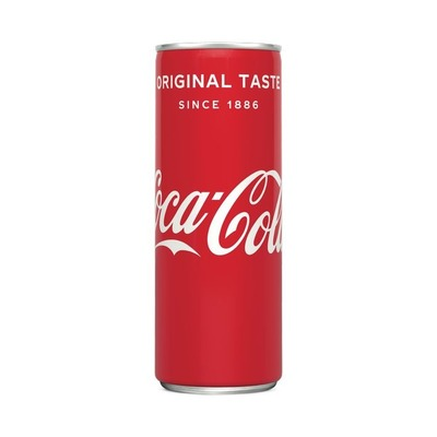 Coca-Cola Regular blik