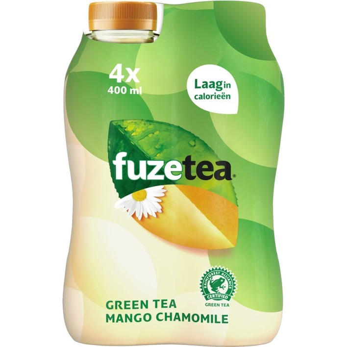 Fuze Tea Green mango chamomile 4-pack