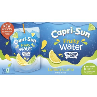 Capri-Sun Lemon lime 10 pack