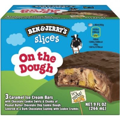 Ben & Jerry's IJs On the dough