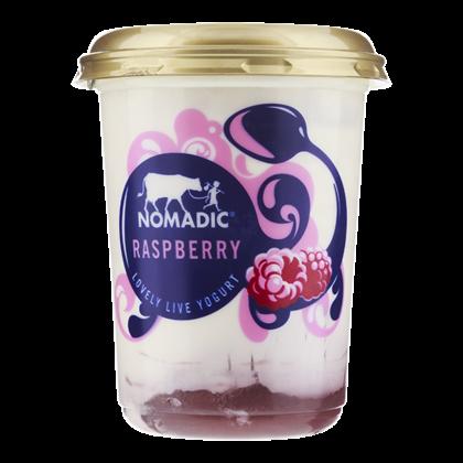 Nomadic Foods Layered yoghurt raspberry