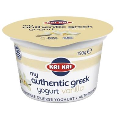 Kri Kri Originele Griekse yoghurt 0% vanille