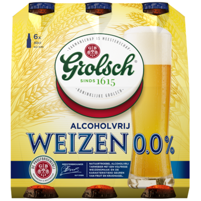 Grolsch Weizen 0.0% Fles