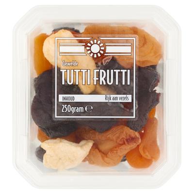 Gewelde Tutti Frutti 250 g