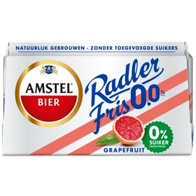Amstel Radler 0.0% grapefruit - max. 24 six packs per kla Max. geldt ook in combinatie met overige varianten