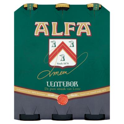Alfa Lentebok Flessen 6 x 30 cl