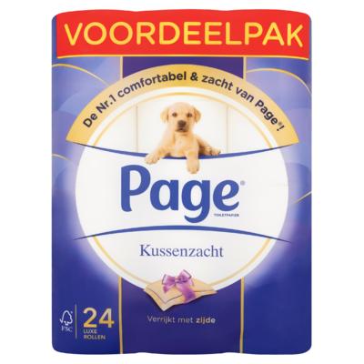 Page® Toiletpapier Kussenzacht Voordeelpak 24 Luxe Rollen