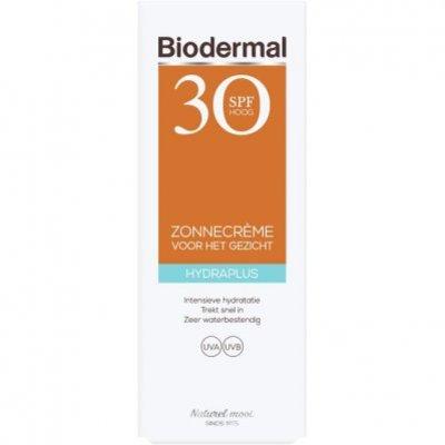 Biodermal Hydraplus zonnecreme gezicht spf 30