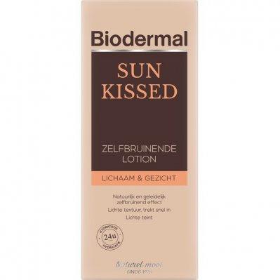 Biodermal Sun kissed zelfbruinende lotion lichaam