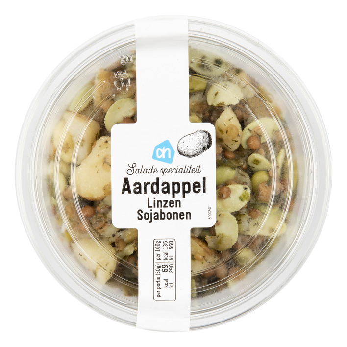 Huismerk Aardappelsalade linzen sojabonen