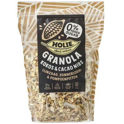 Holie Granola kokos - cacao nibs