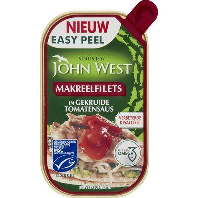 John West Makreelfilet in tomatensaus MSC