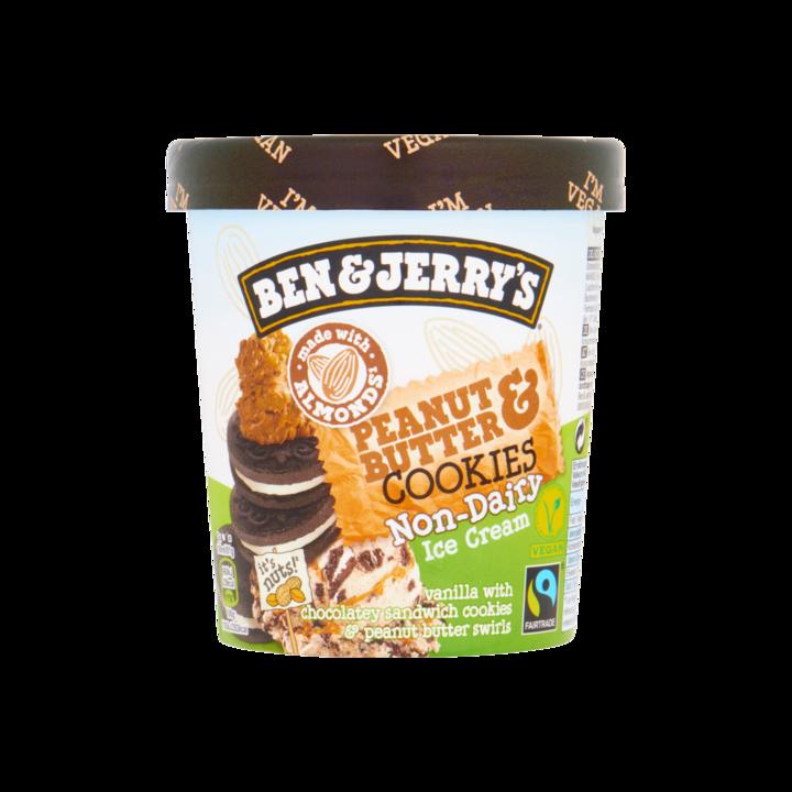 Ben & Jerry's IJs Non Dairy Peanut Butter & Cookies