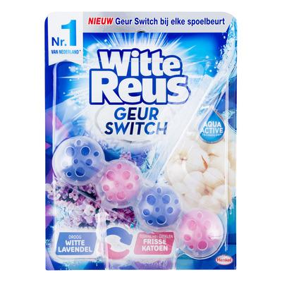 Witte Reus geur switch lavendel katoen