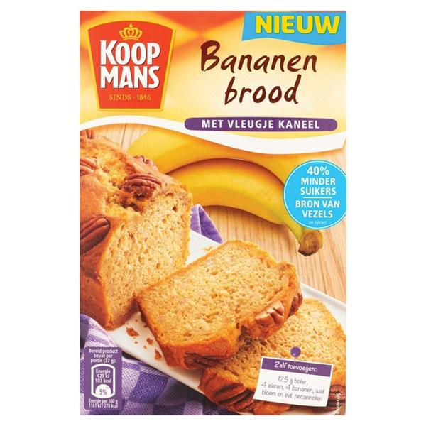 Koopmans bananenbrood