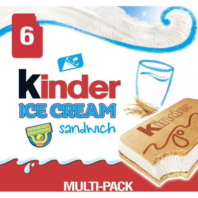 Kinder Bueno ijs sandwich