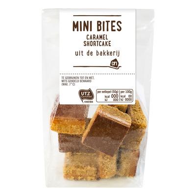Huismerk Mini bites caramel shortcakes