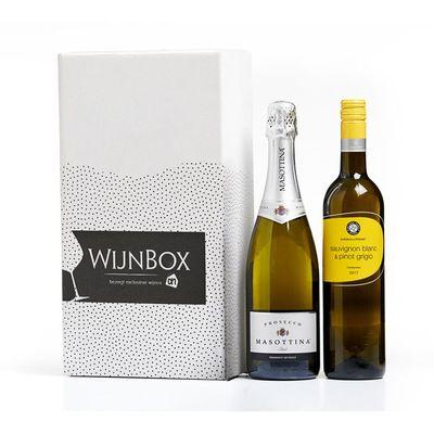 Huismerk Brunch wijnbox