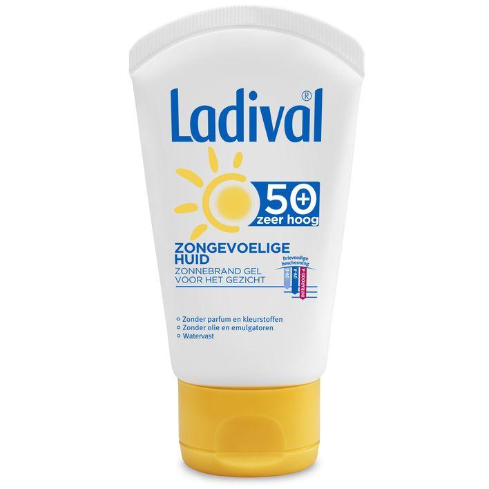 Ladival Zongevoelige huid spf 50 gel