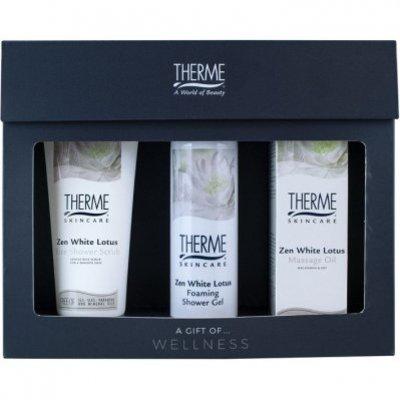 Therme Zen white lotus cadeauset massage oil