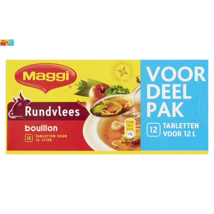 Maggi Bouillon beef rundvlees