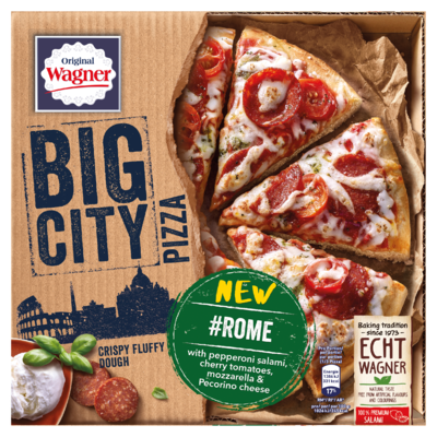 Original Wagner Big City Pizza Rome 405 g