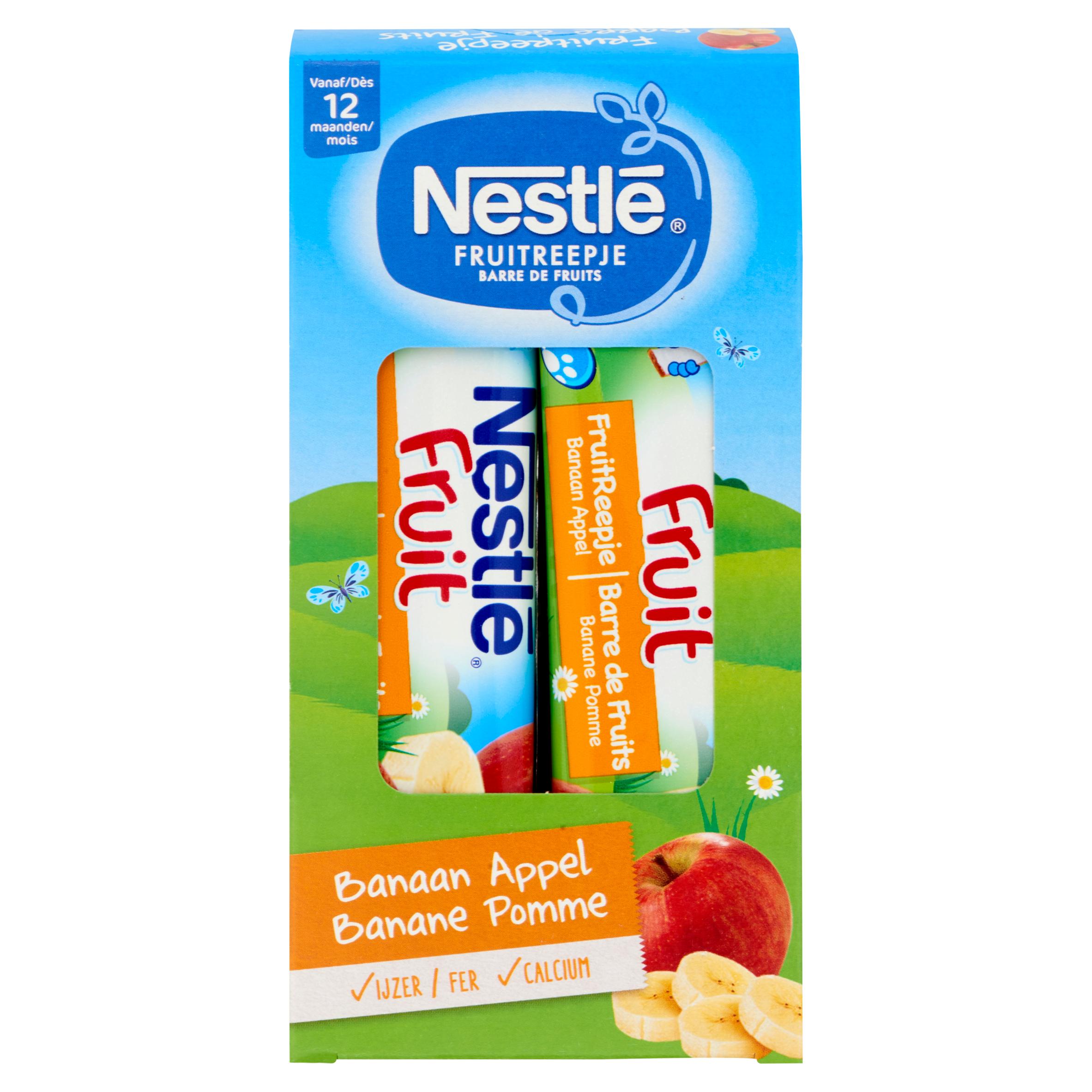 Nestlé FruitReepje® Banaan Appel vanaf 12 Maanden 4 x 25 g