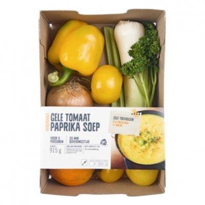 AH Gele tomaat paprikasoep verspakket