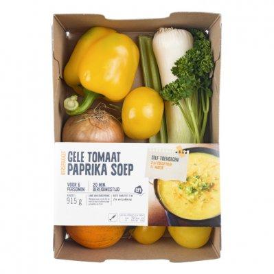 Huismerk Gele tomaat paprikasoep verspakket