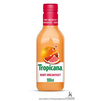Tropicana Ruby breakfast sap