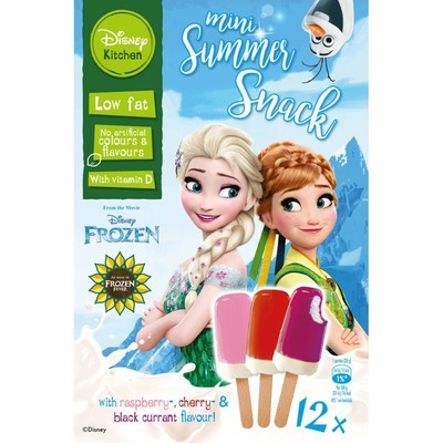 Disney Frozen summer mini snack