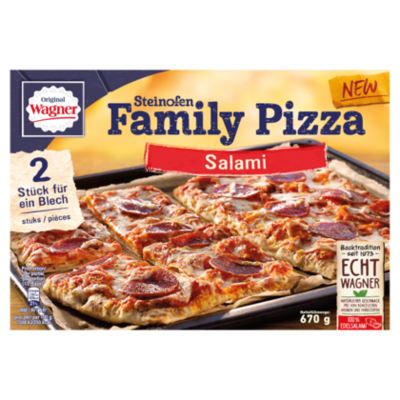 Wagner Family pizza Salami