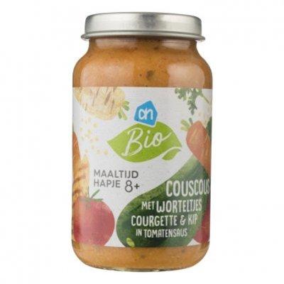 AH Biologisch Couscous wortel courget kip in saus 8m01