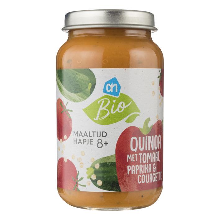 Huismerk Biologisch Quinoa met tomaat paprika courgette 8m07