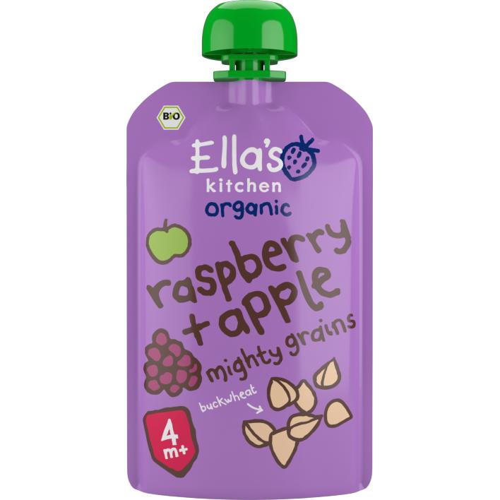 Ella's Kitchen Raspberry apple + Buckwheat 4+ bio