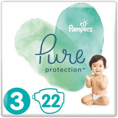Pampers Pure protection maat 6-10 kg maat 3