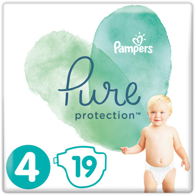 Pampers Pure Protection Maat 9-14 kg maat 4